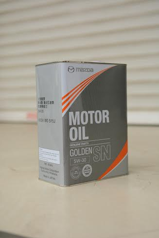 Mazda Motor Oil Golden SN 5W30