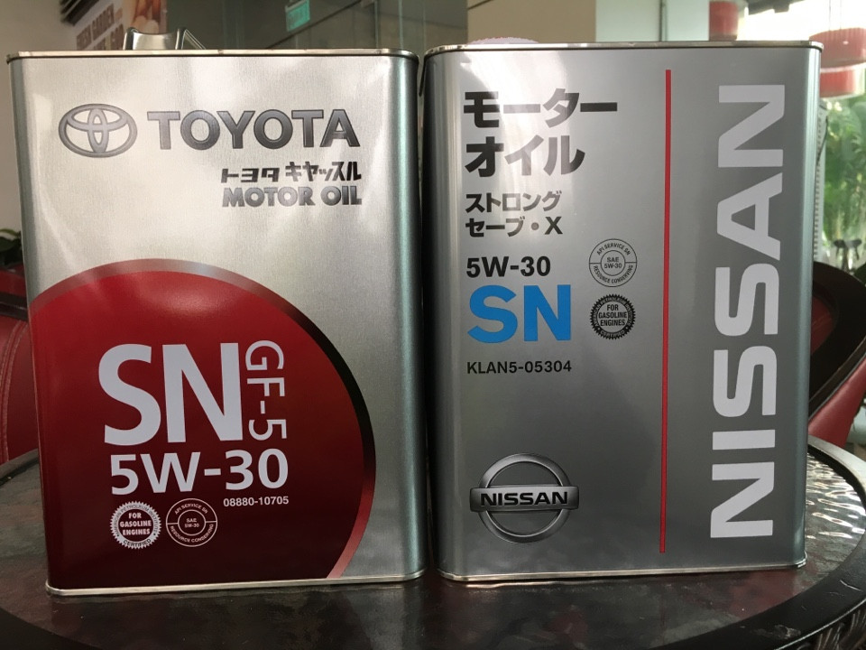 Nissan Genuine Engine Oil SN 5W30